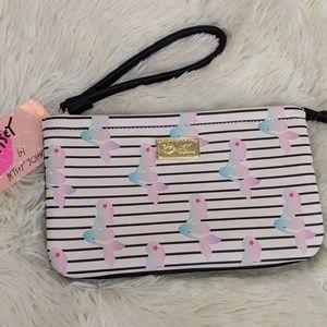 Betsey Johnson Mermaid Wristlet/Clutch Bag